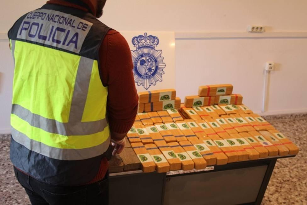 La Policía Nacional incauta 30 kilos de heroína en la localidad navarra de Imárcoain