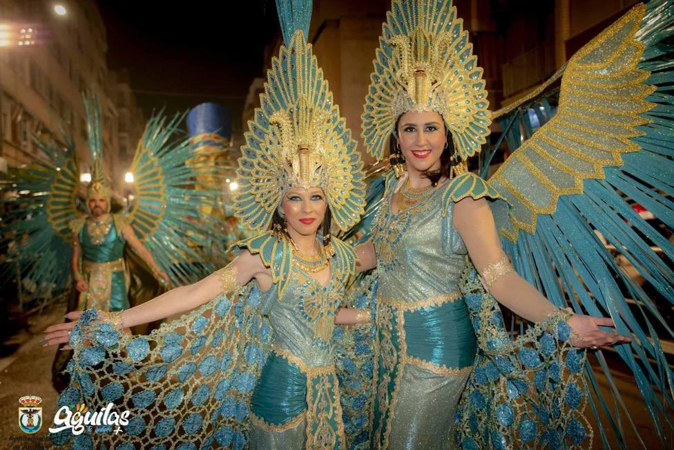 El lunes 13 comienza la venta de palcos del Carnaval de Águilas