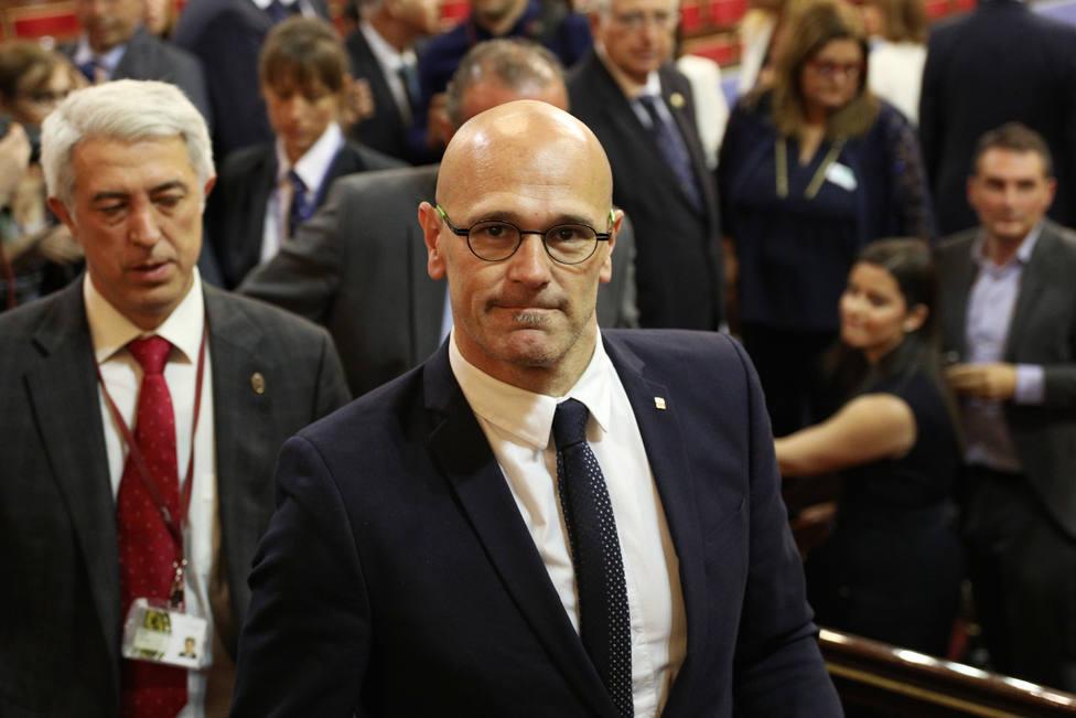 Romeva espera que el nuevo Gobierno consiga sacar el conflicto catalán de la vía judicial