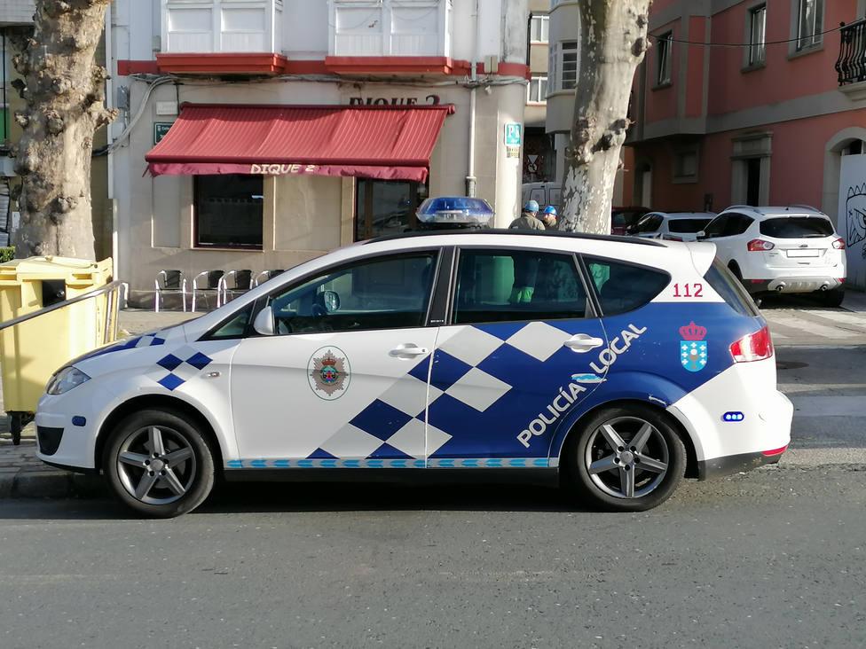 Foto de archivo de un coche de la Policía Local de Ferrol