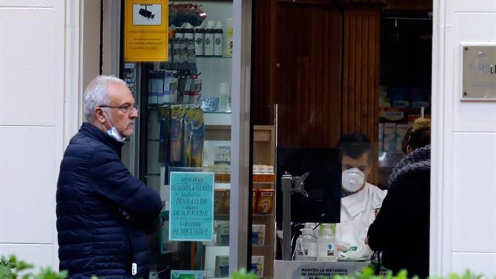Las farmacias desconocen cuando se podrá normalizar la disponibilidad de mascarillas