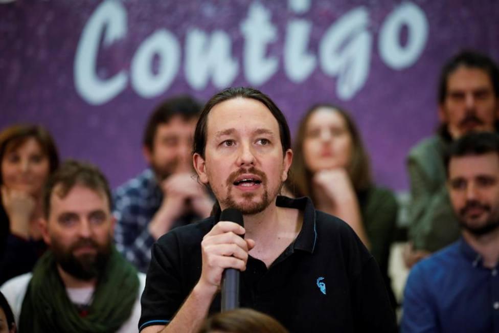 Pablo Iglesias en el acto de presentación de su candidatura a la Tercera Asamblea Ciudadana el pasado 1 de mar