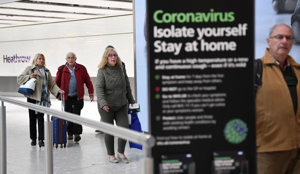 Reino Unido impuso la cuarentena a España tras detectar diez positivos importados en un mes