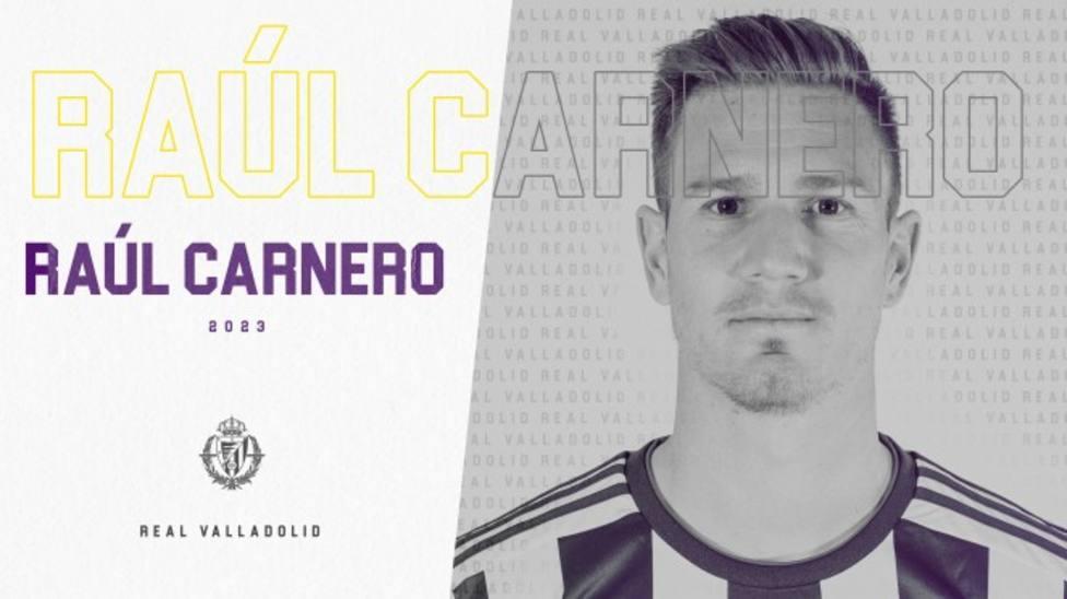 Raúl Carnero deja el Getafe y ficha por el Valladolid hasta el 30 de junio de 2023