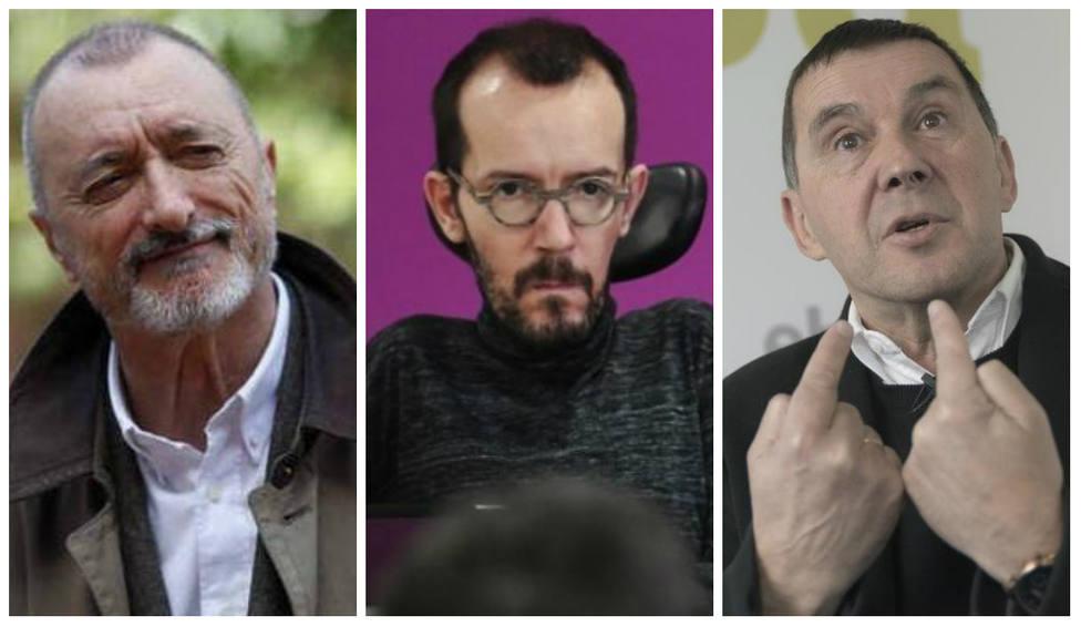 """Pérez-Reverte, alto y claro sobre la República: """"¿Imaginan una Constitución redactada por Echenique y Otegi?"""""""