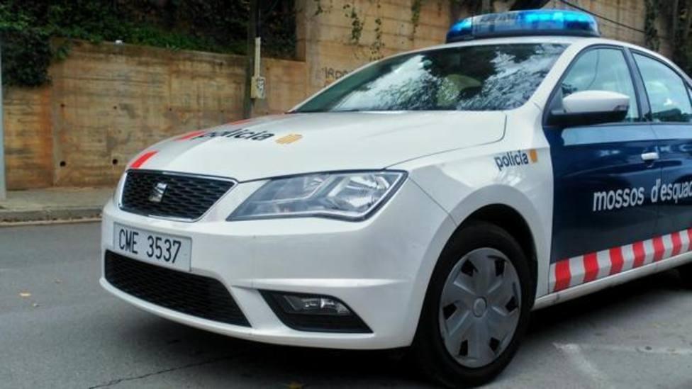 Un vehículo de los Mossos dEsquadra