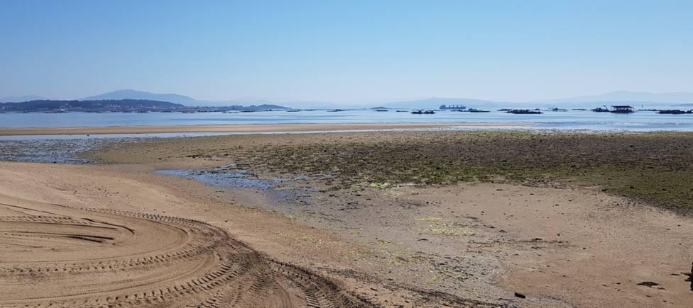 playa Os Raposiños A Pobra