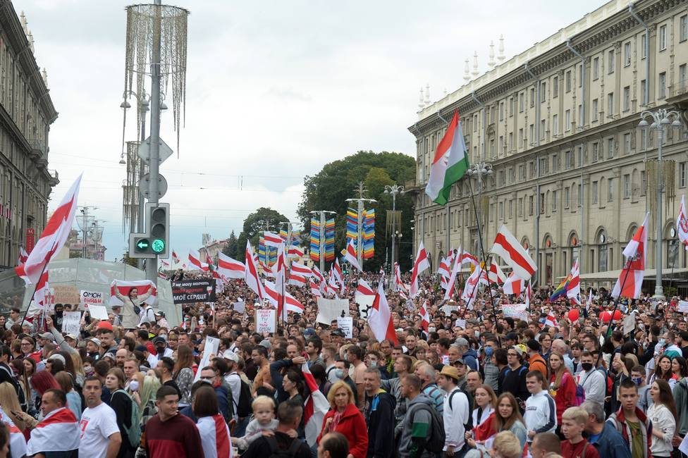 Opposition protests in Belarus
