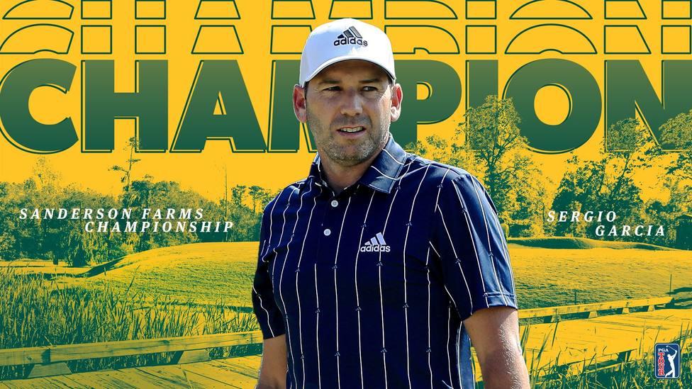Sergio García se lleva el Sanderson Farms Championship
