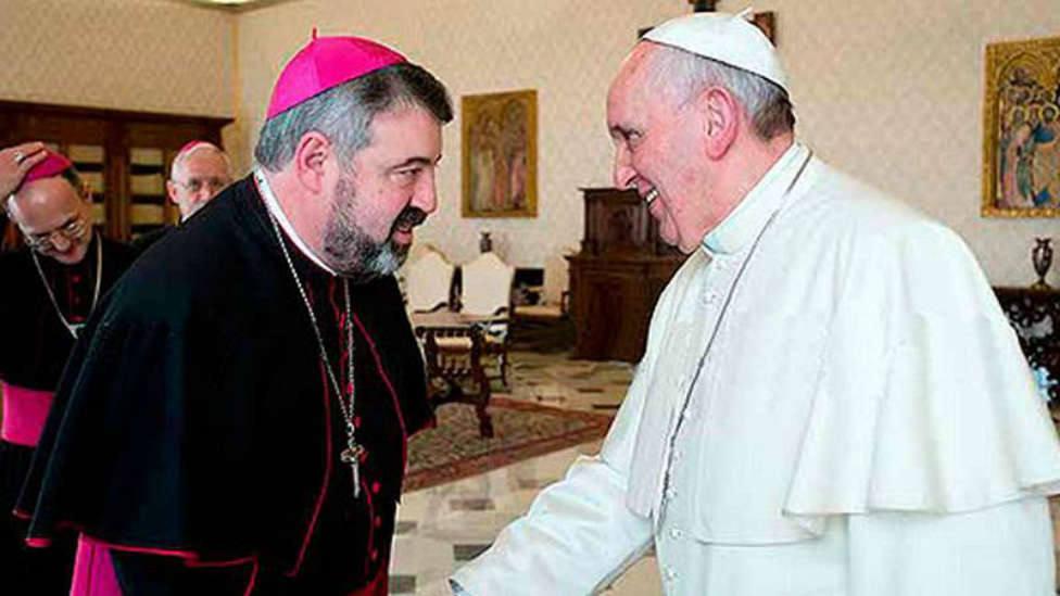 Arzobispo Zaragoza. Carlos Escribano