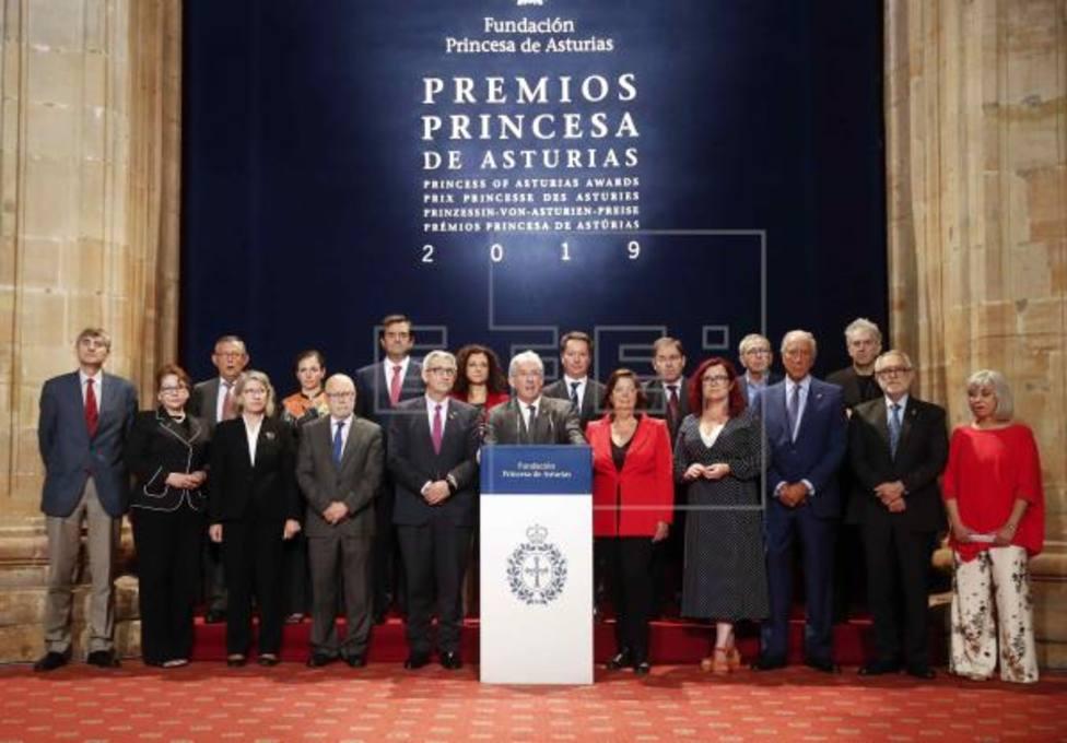 Foto del Jurado Premios Princesa de Asturias de Investigación 2019 (EFE)