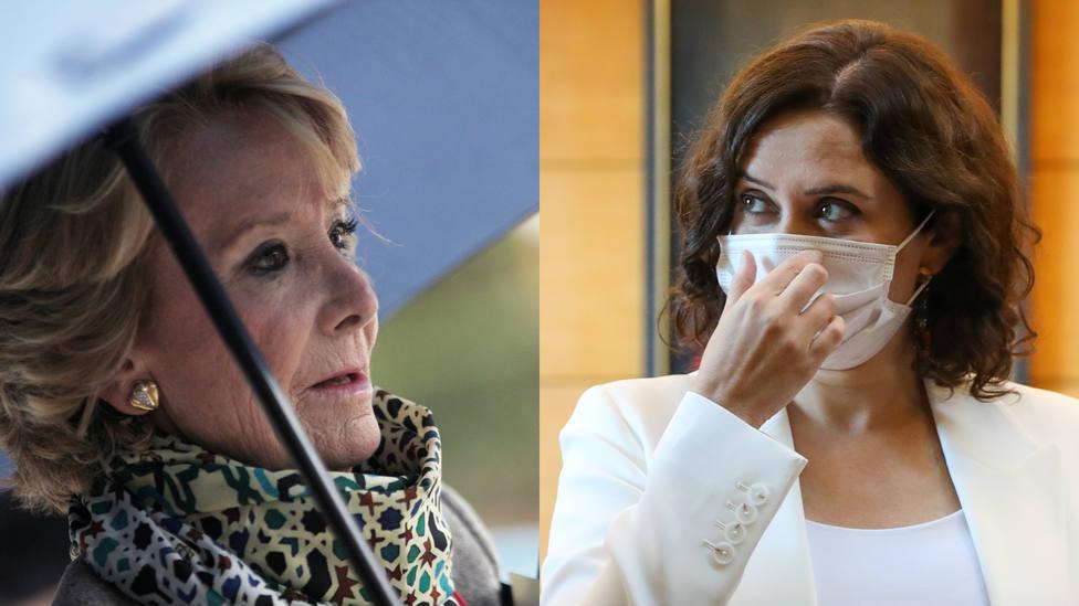 Esperanza Aguirre desvela el origen oculto de Díaz Ayuso: Tuvo problemas