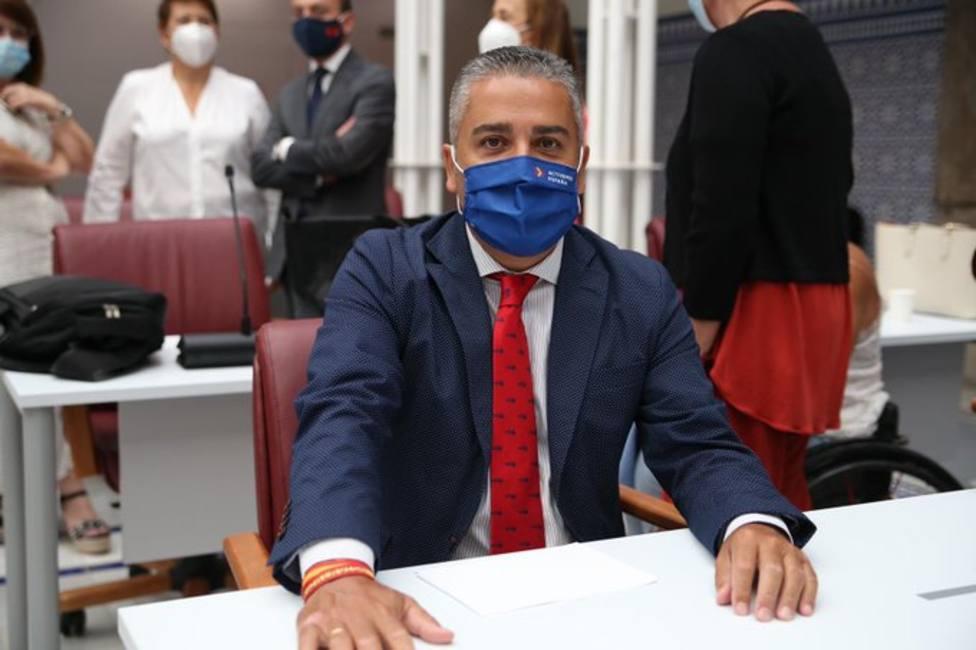 Jesús Cano, diputado del PP en la Asamblea Regional