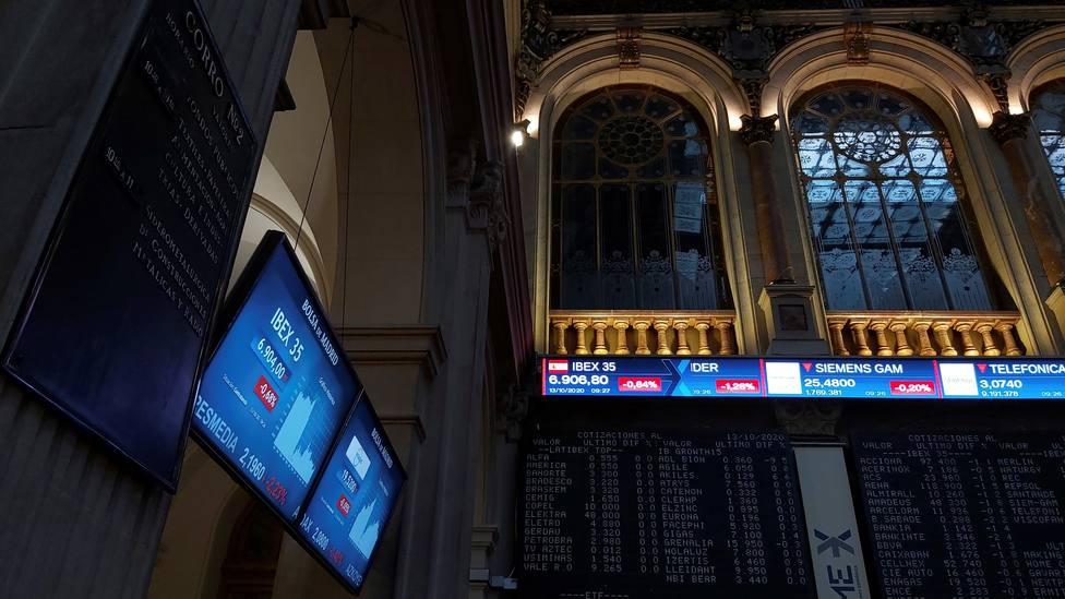 Madrids Stock Exchange