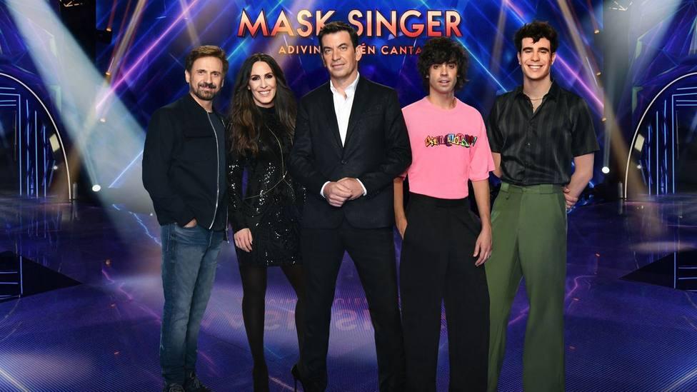 Desvelan por accidente la identidad de cinco concursantes de Mask Singer