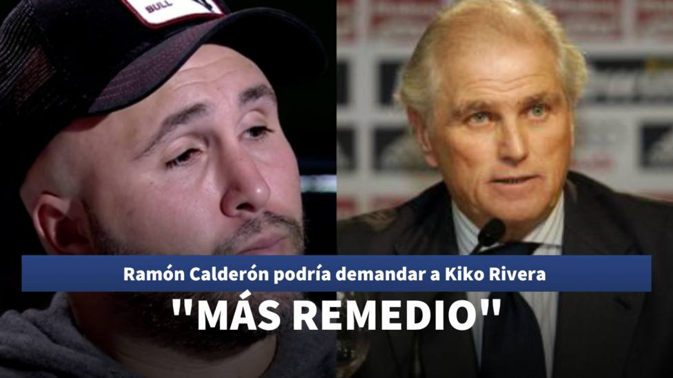 Ramón Calderón y Kiko Rivera