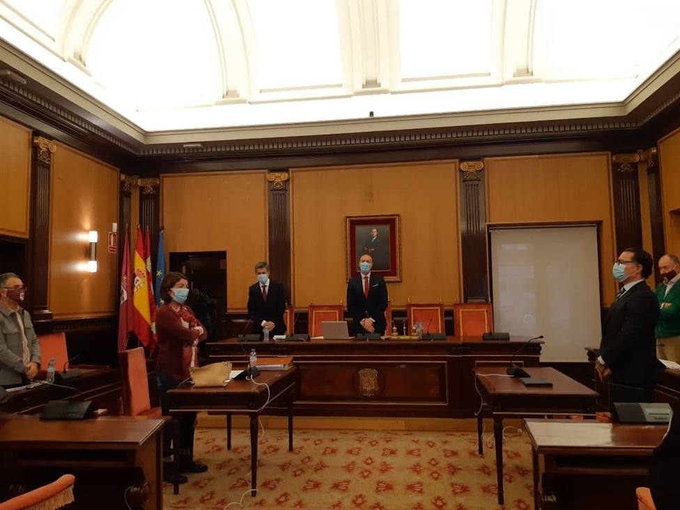 Pleno ayuntamiento de León.