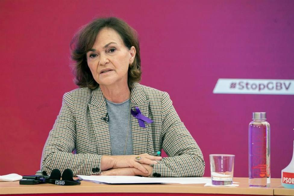 Carmen Calvo: La obligatoriedad de las vacunas no es legalmente posible