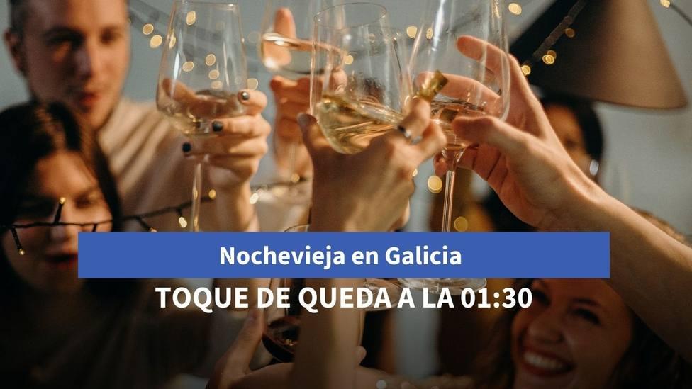 Galicia recomienda reuniones solo de convivientes en la Nochevieja