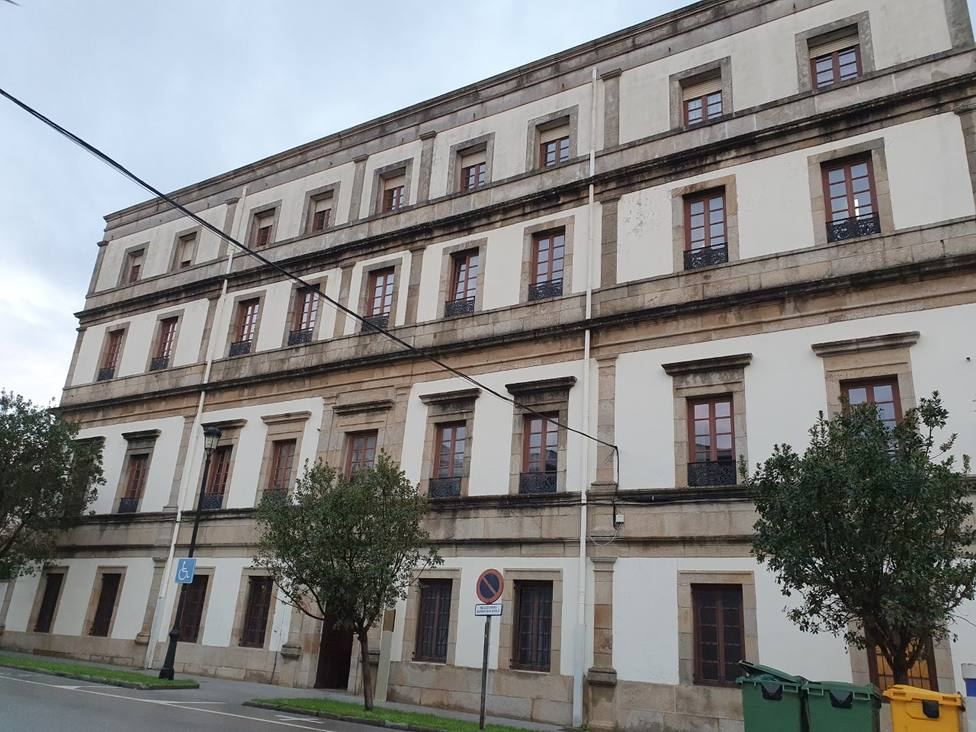 Hospital Asilo San Sebastián y San Lázaro, en Ribadeo
