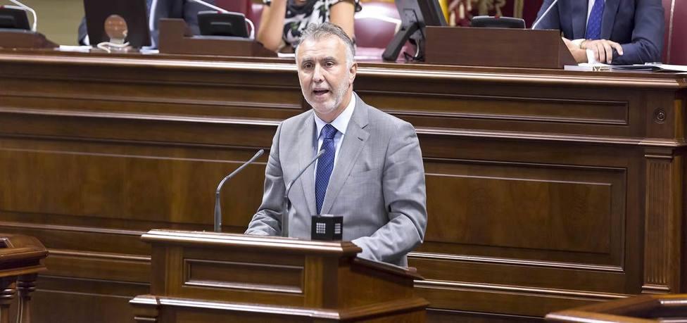 El presidente del Gobierno de Canarias afirma que irá las veces que sean necesaria a Madrid