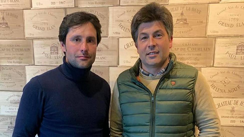 Andrés Romero y José Montes tras sellar su nuevo acuerdo de apoderamiento