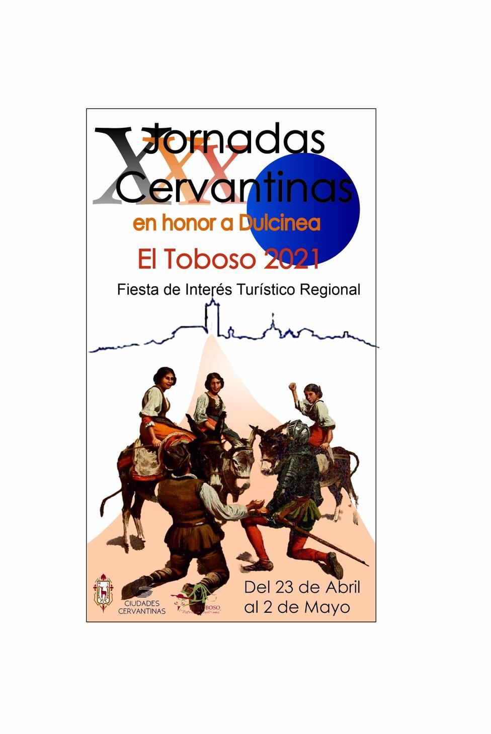 Las XXX Jornadas Cervantinas en honor a Dulcinea de El Toboso homenajearán a personas que las han hecho posibles
