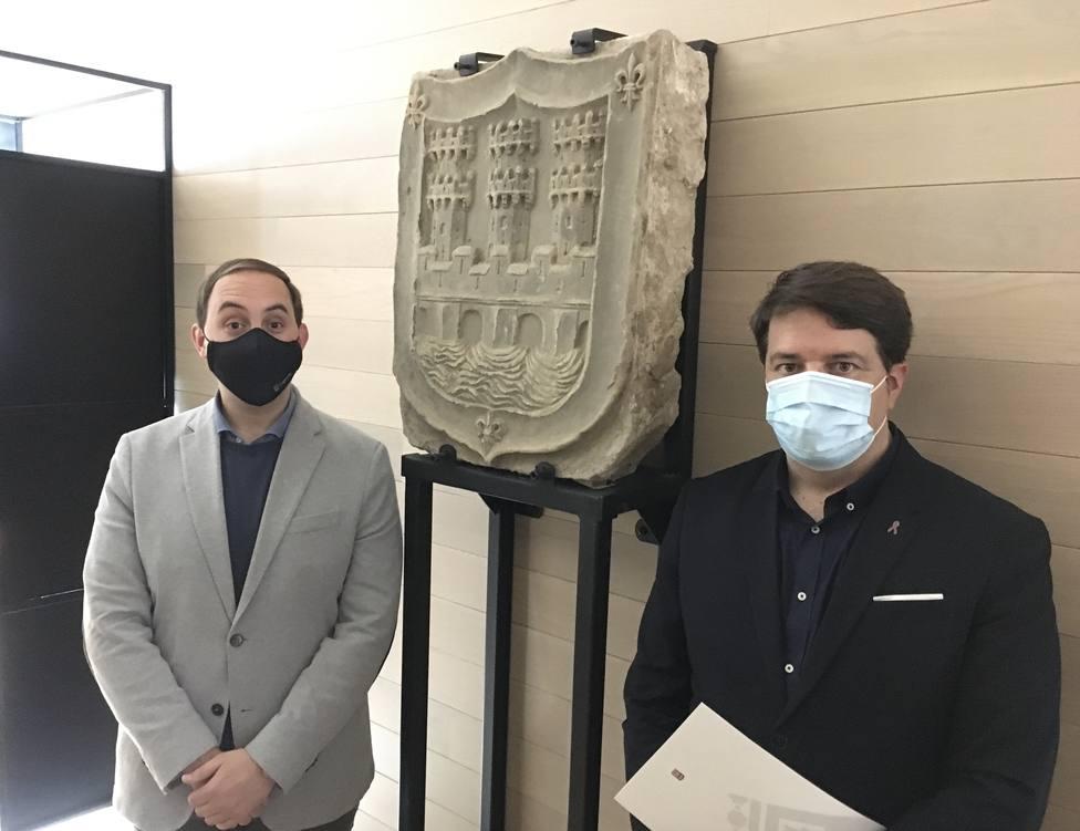 Adrián Calonge y Kilian Cruz Dunne, concejales de Logroño
