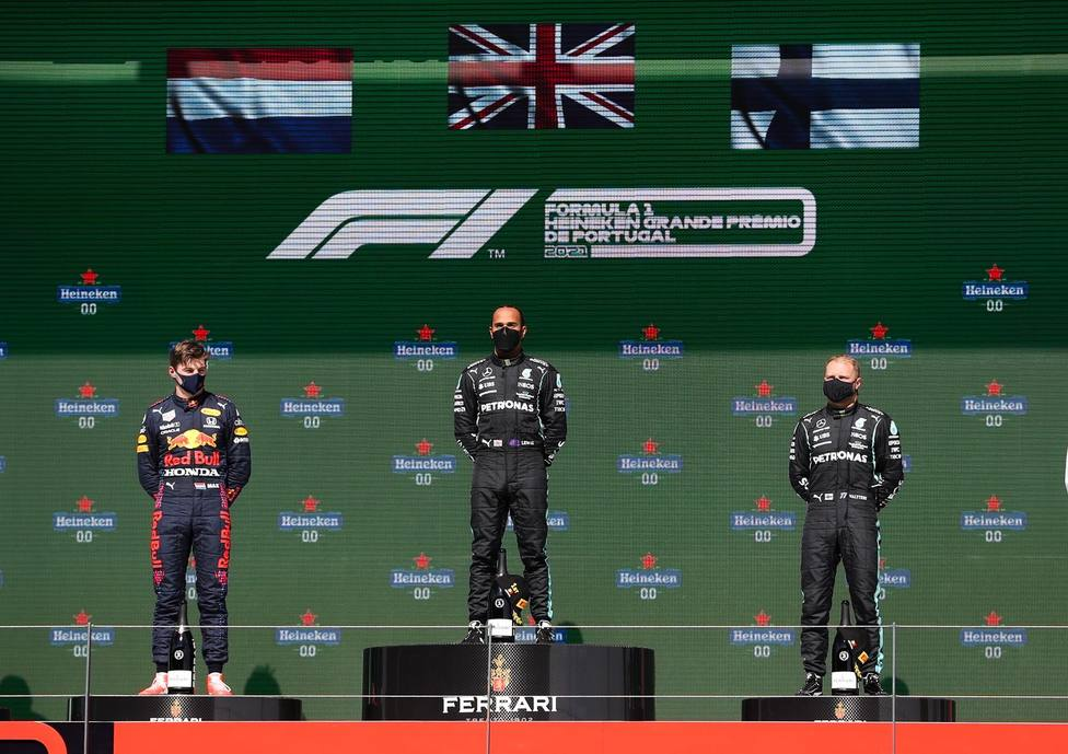 Podio GP Portugal 2021