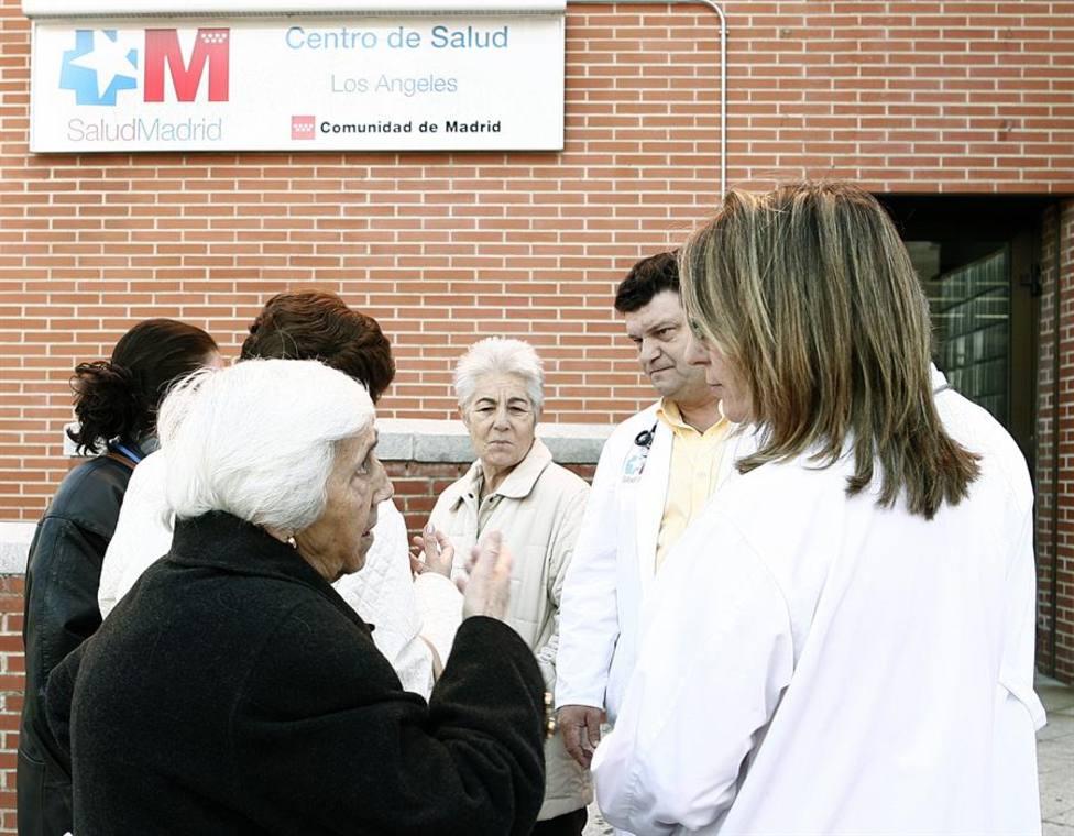 Centro de Salud de atención primaria de Madrid antes de la pandemia