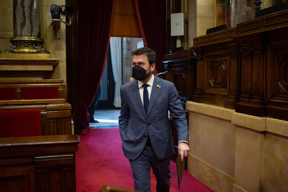 Aragonès asistirá el lunes al acto de Sánchez en Barcelona