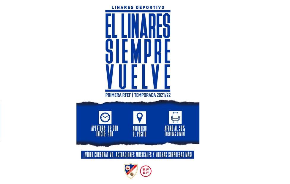 El Linares Deportivo presenta ante su afición la campaña de abonados 2021/22