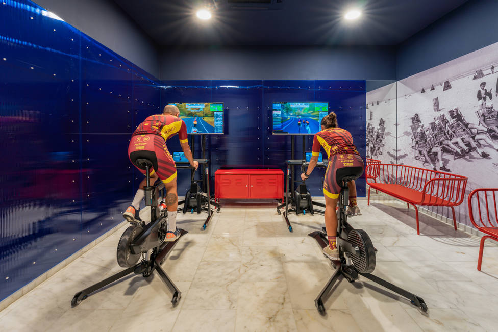 Marina Suites crea Virtual Cycling Station