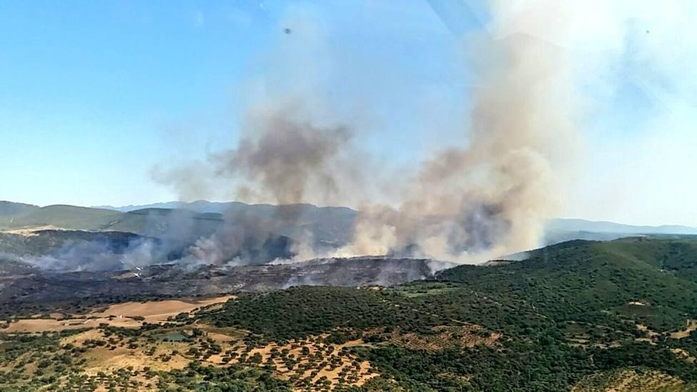 Incendio Madroñera