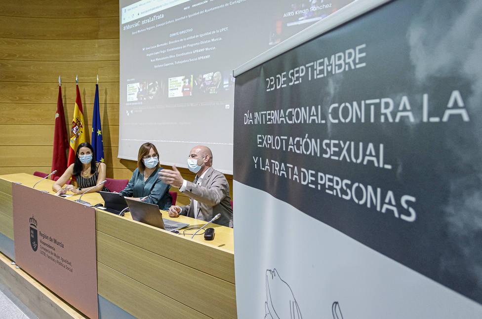 PRESENTACION WEB CONTRA LA TRATA
