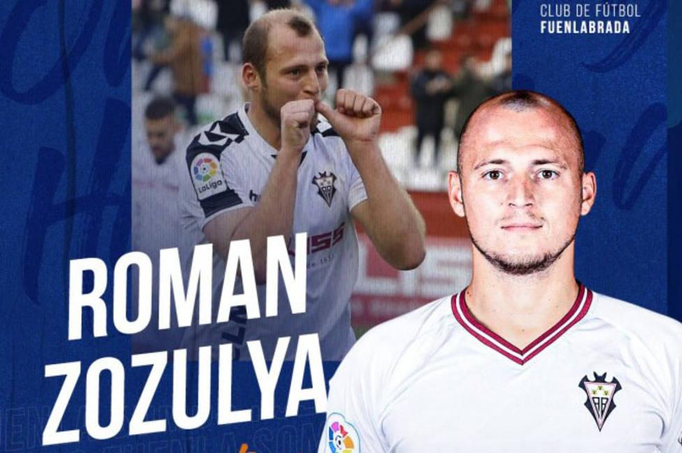 Roman Zozulya jugará dos temporadas con el Fuenlabrada.