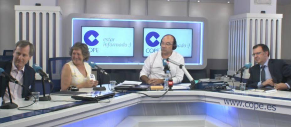 El problema de la natalidad en La Tarde con Pilar González de Frutos, Alejandro Macarrón y Cándido Pérez Serrano.