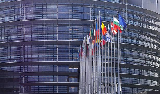 Parlamento Europeo en imagen de archivo