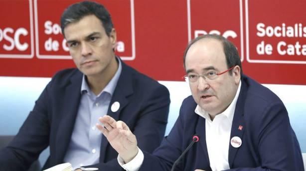 Iceta pide a Torra que respete la ley y piense en el conjunto de Cataluña