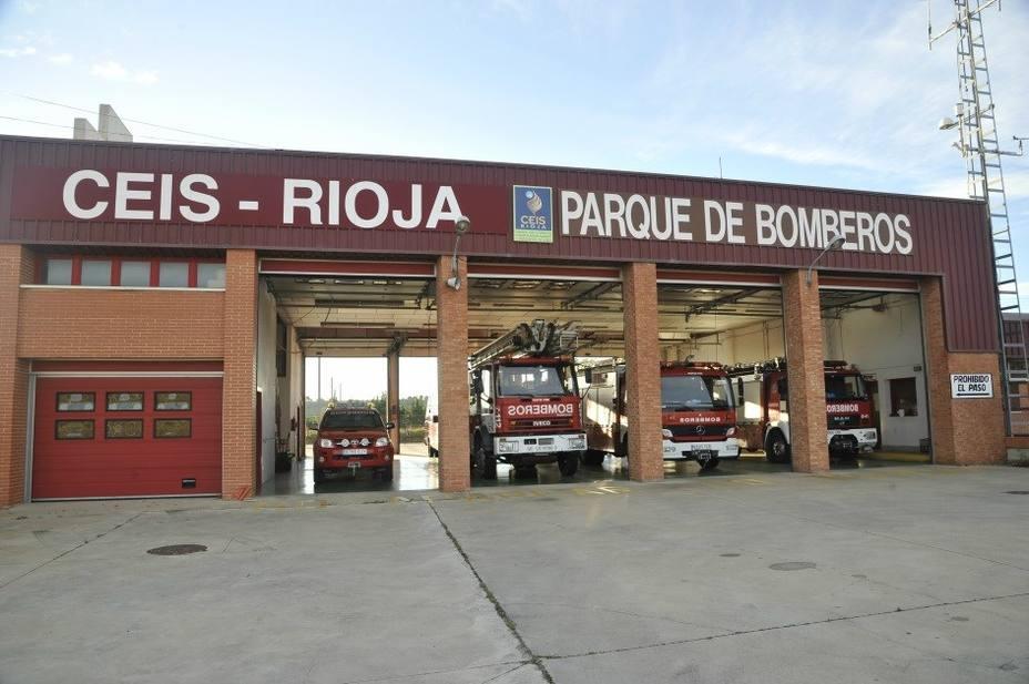 parque de bomberos de Calahorra
