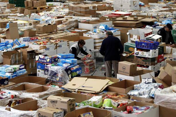 El Banco de Alimentos apela al voluntariado para recoger 22 millones de kilos