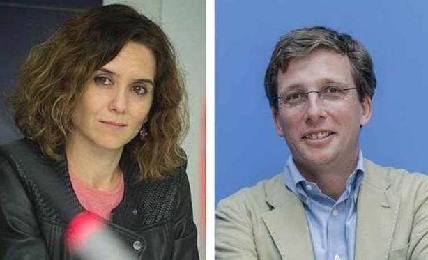 El PP de Madrid muestra su apoyo y satisfacción por la designación de Díaz Ayuso y Almeida como candidatos en Madrid
