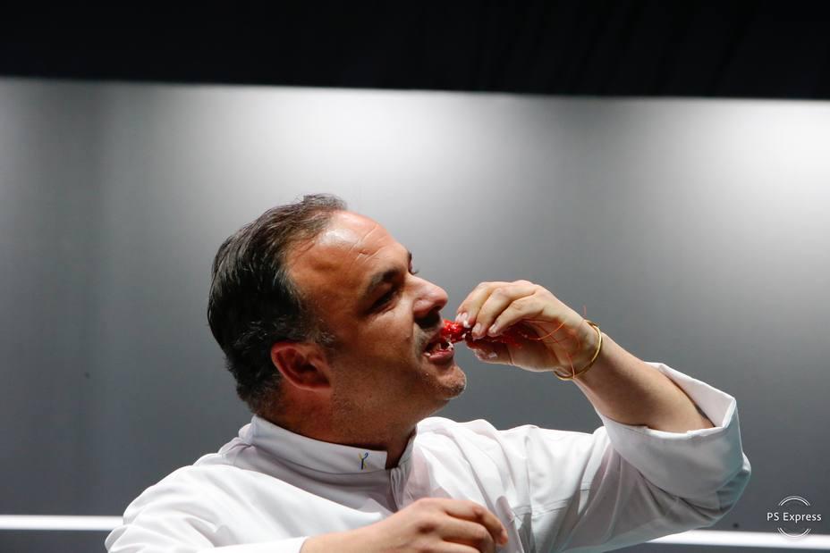 """Ángel León revoluciona la gastronomía con su """"sal viva"""""""