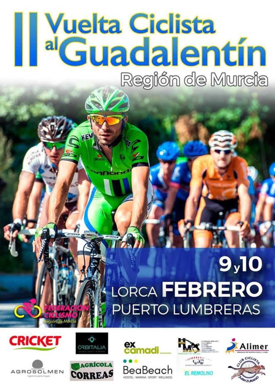 La Vuelta Ciclista Internacional al Valle del Guadalentín arranca hoy con 18 equipos.