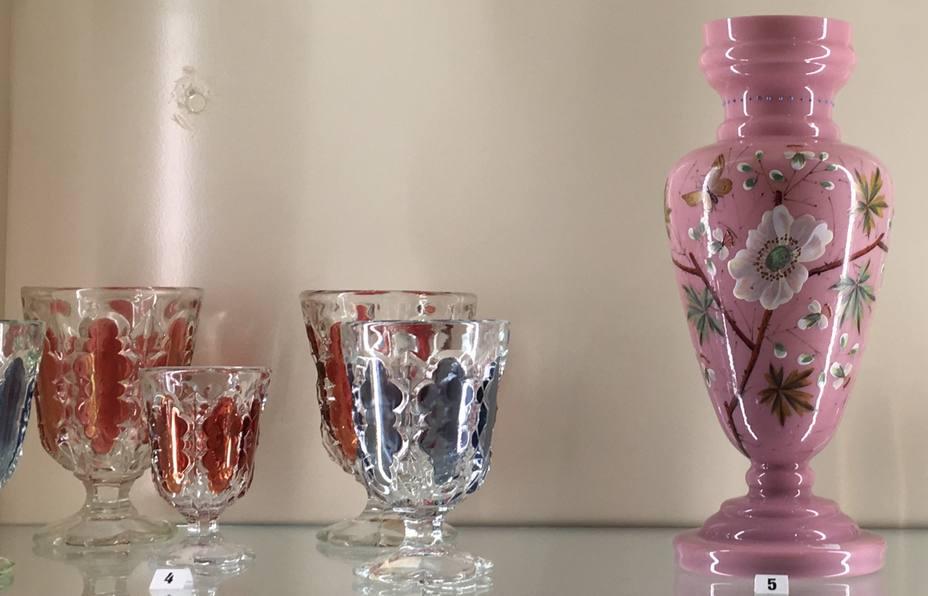Piezas de vidrio confeccionadas en La Industria