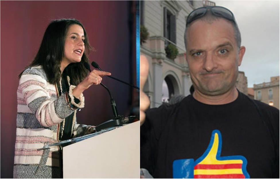 Un colaborador de TV3 insulta a Arrimadas y esta le pone en su sitio