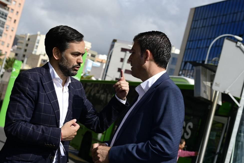 Lope Afonso y Manuel Domínguez