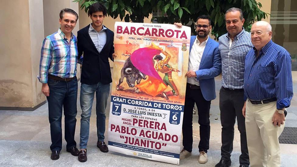 Acto de presentación del cartel de la corrida de toros que anunciará Barcarrota el 7 de septiembre