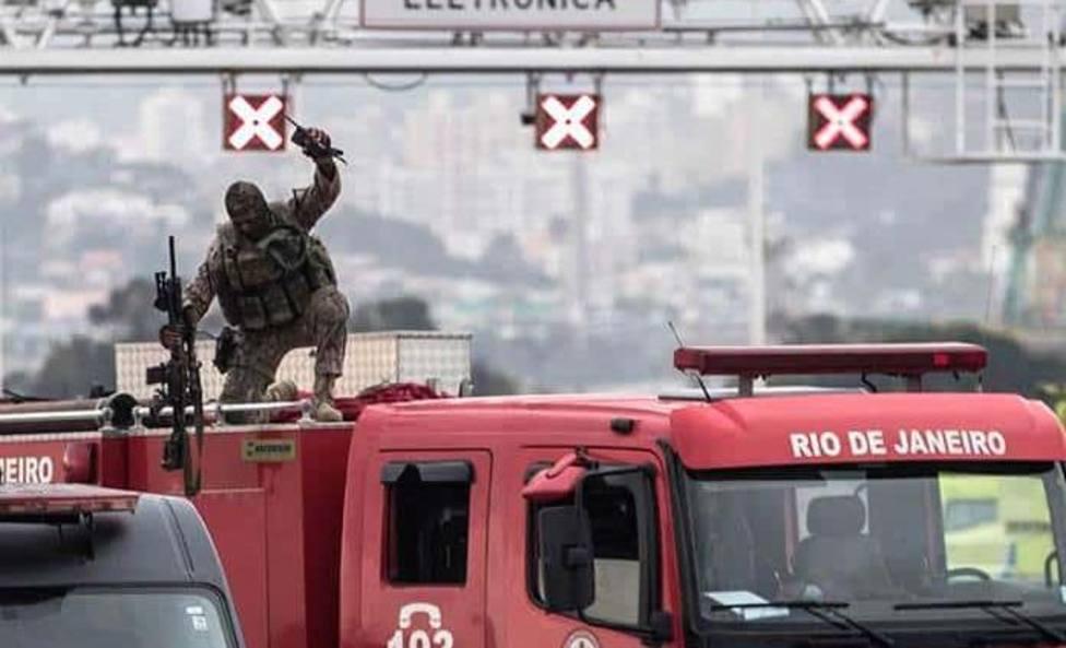Así ha sido el nuevo rescate de película que ha protagonizado la famosa Tropa de Élite de Río de Janeiro
