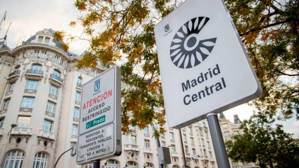 Las multas por acceder a Madrid Central cayeron durante el mes de las elecciones locales